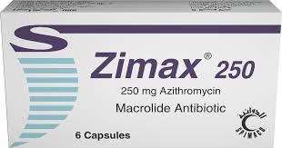 سعر ودواعى إستعمال زيماكس Zimax كبسولات شراب مضاد حيوى واسع المجال