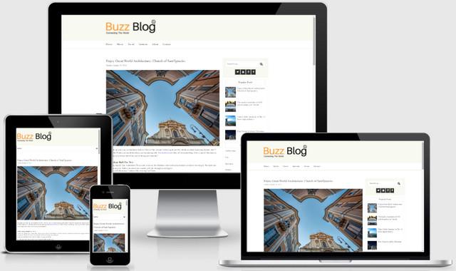 SimpleBuzz Simple Responsive Blogger Templates