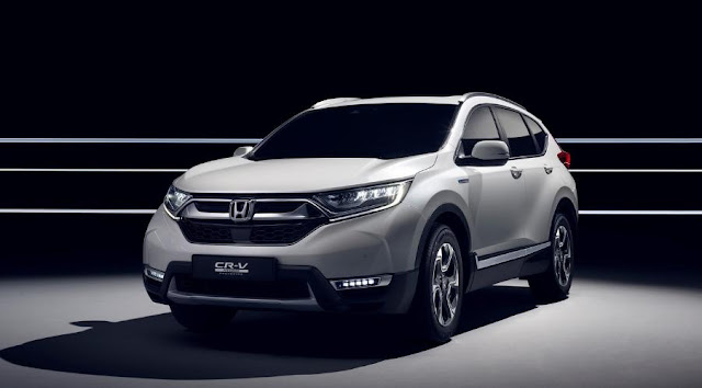 Honda CR-V Hybrid will become the first hybrid SUV of the Japanese brand in Europe in 2018