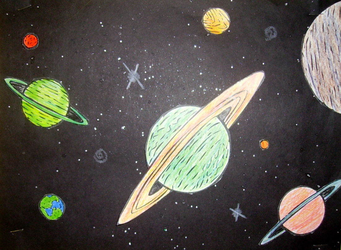 Outer Space Pictures For Kids