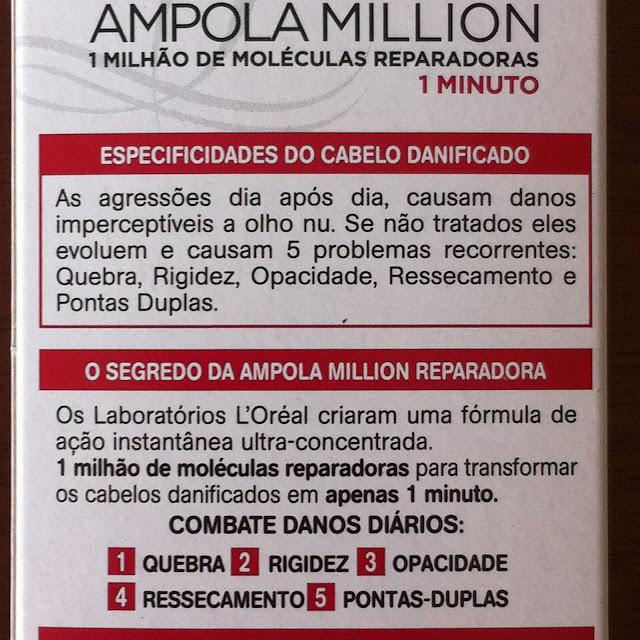 Ampola Million Reparação Instantânea - Elseve Reparação Total 5+