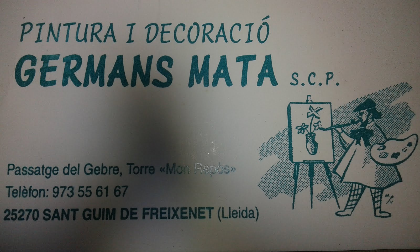 Pintura i Decoració GERMANS MATA