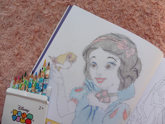Art Therapie : Points à relier Princesses Disney