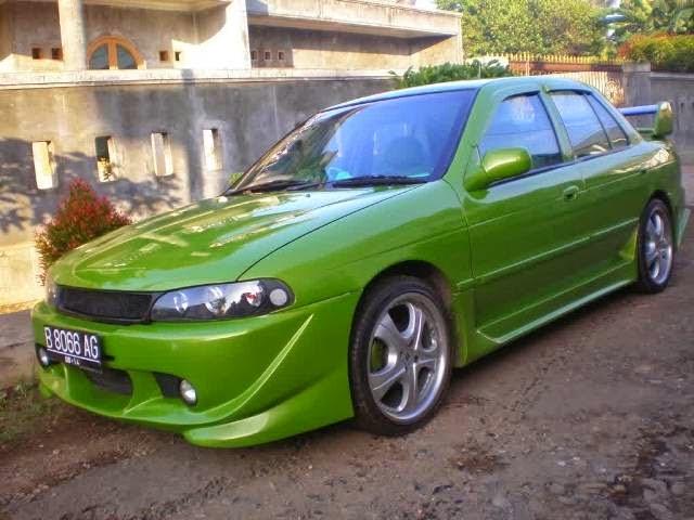 Modifikasi Mobil Timor Green