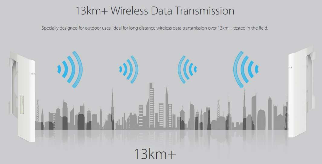 Spesifikasi dan Setting TP-LINK 2.4 GHz CPE 220 Sebagai
