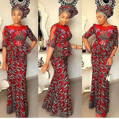 ankara blouses on jeans