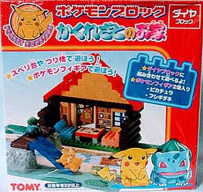 Tomy Pokemon Block Hidden Village House