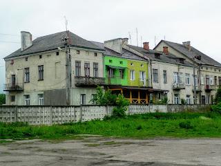 Ходорів. Житлові будинки на вул. Гонти
