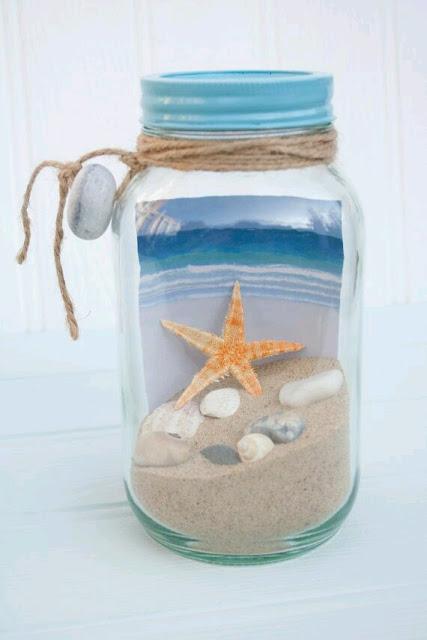 Decora tu hogar con arena de la playa