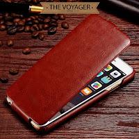 sarung casing hp kulit iPhone 6 6s leather flip case cover vintage sapi asli import premium original unik keren