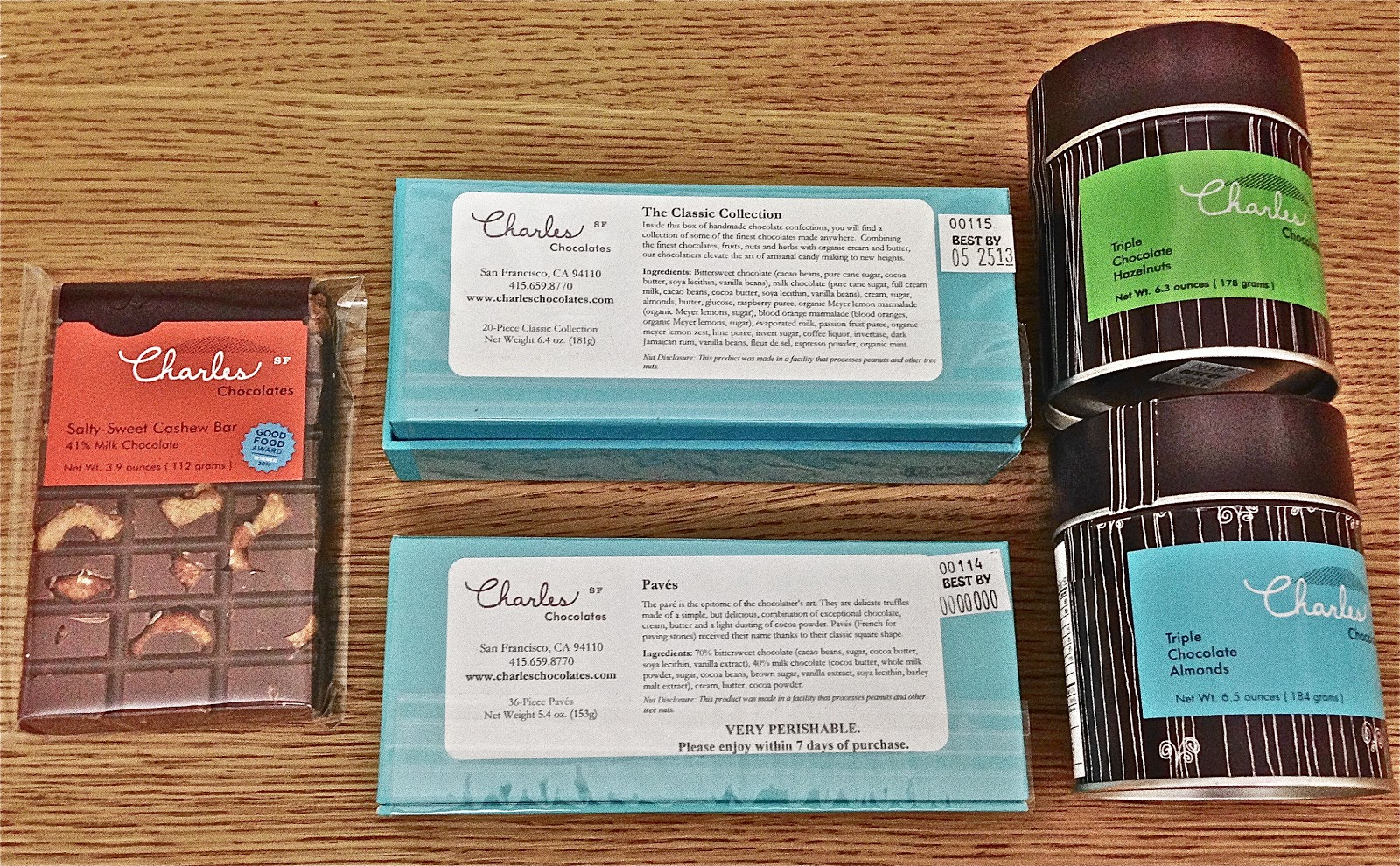 Tea Time Adventures and Other Food Exploits: Charles Chocolates in ...