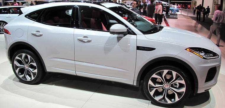 Saxton On Cars: LA Auto Show: Jaguar E-PACE Compact SUV
