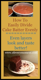 How to Divide Cake Batter An Easy Tip for Even Layers the most
