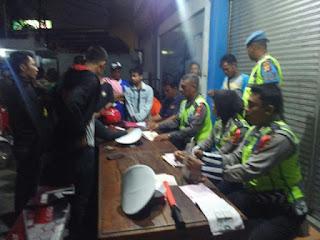 Polres Cirebon Kota Gelar Razia C3 Dan Amankan Sejumlah Bukti Pelanggaran