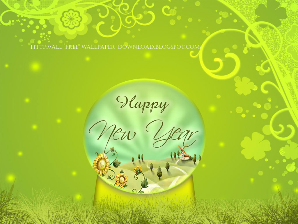 New Year Wallpaper 2012. 1024 x 768.Handmade Greeting Cards Happy New Year