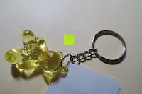 gelb: German Trendseller® - 6 x Teddy - Schmuck Anhänger - NEU - ┃ Mitgebsel ┃ Kindergeburtstag ┃ Kristall Bärchen ┃ 6 Stück