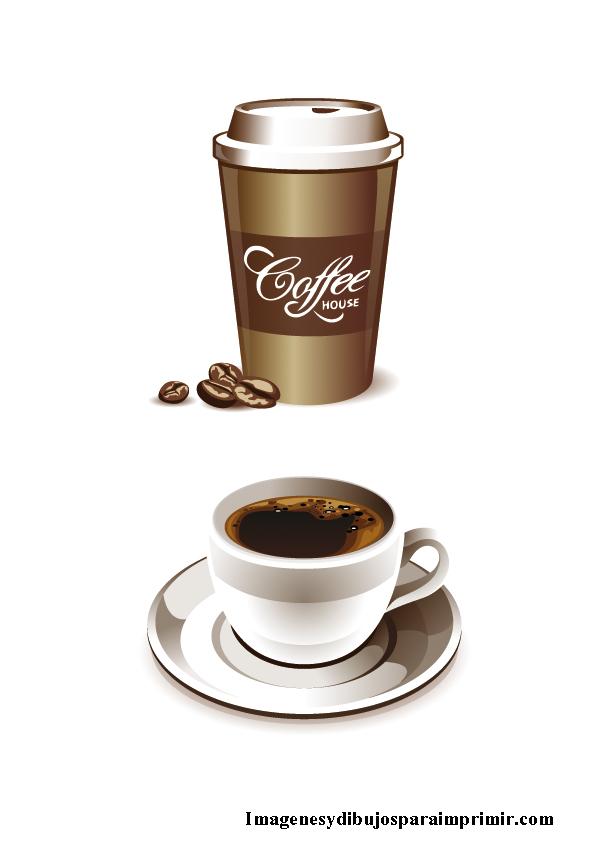 Tazas de cafe para imprimir imagenes y dibujos para imprimir for Cafe para llevar