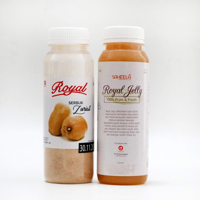 Paket Promil Serbuk Zuriat 100 gr + Royal Jelly 340 gr
