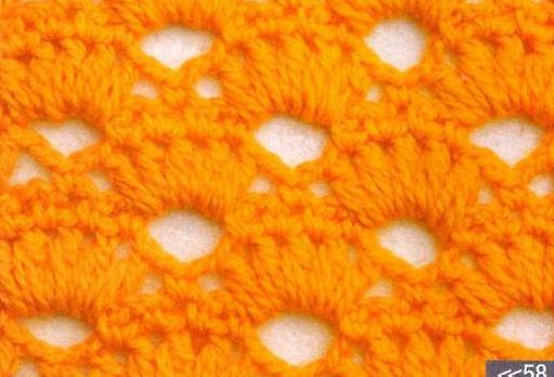 Patrón #1781: Punto Calado a Crochet