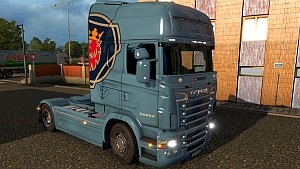 Scania Vabis V8 Skin 1.3 by sevquis