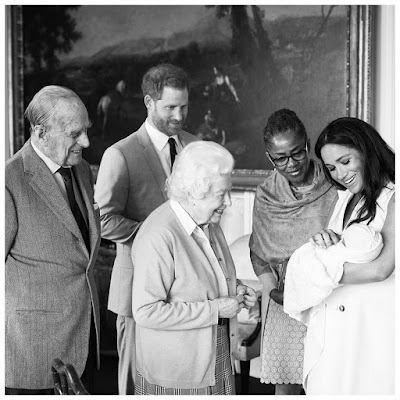 Baby Sussex named Archie Harrison Mountbatten-Windsor