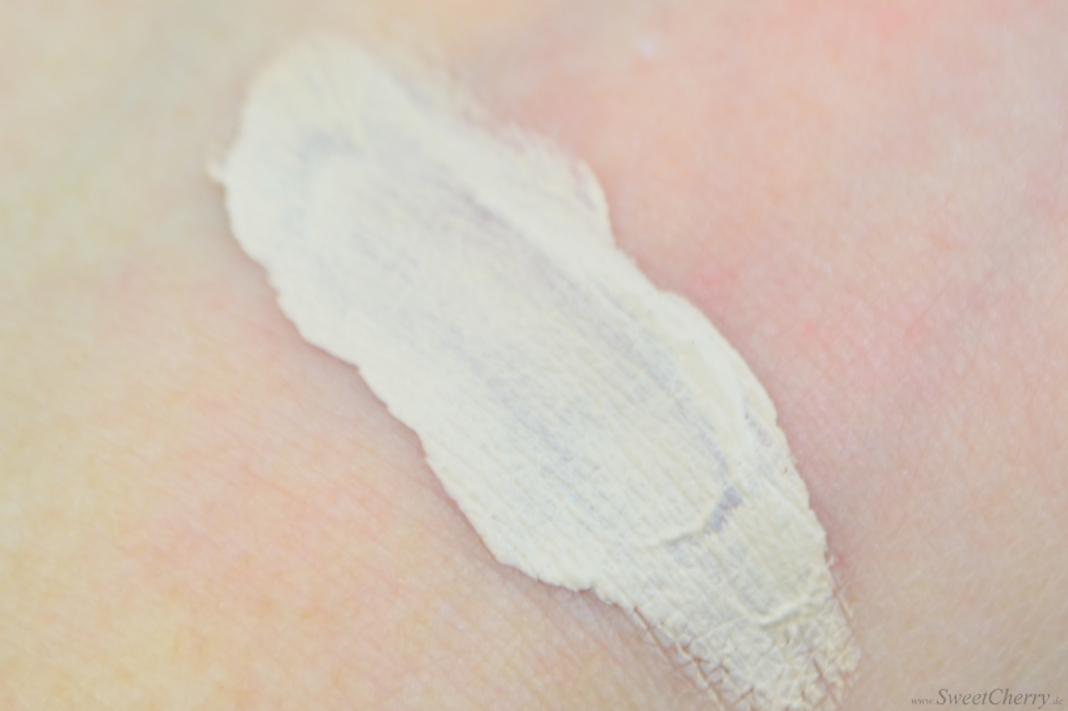 Alverde Sortiment 2017 - Gel Make-up Soft Honey - Swatch