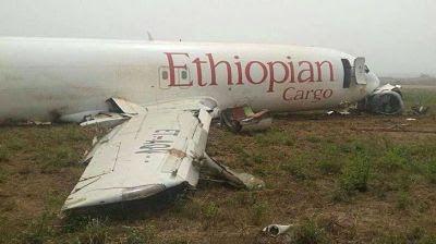 Momentos finales de Ethiopian Airlines Boeing 737 Max