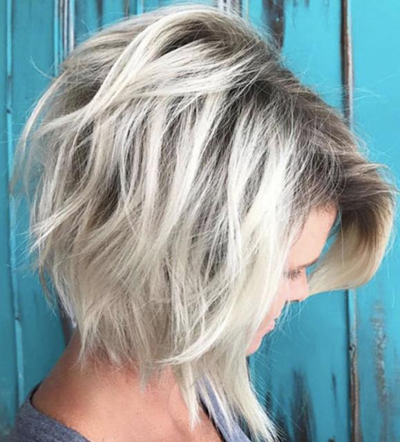 layered bob haircuts 2018