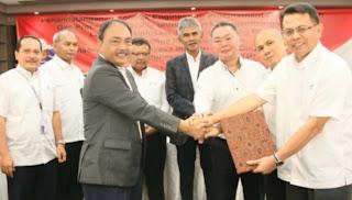 Penanda tanganan Kontrak EPC GPF Lapangan Gas Unitisasi Jambaran Tiung Biru