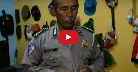 VIDEO: Rawat Istri Stroke, Anak Depresi Dan Cucu Sendirian, Kehidupan Polisi Ini Sungguh Mengharukan