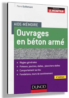 ouvrages en béton armé des Aide-mémoire