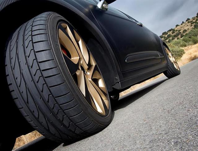 Partes de una rueda de coche
