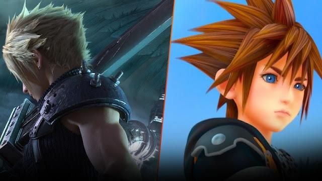 شركة Square Enix تتحدث عن سبب تأخير معلومات لعبة Kingdom Hearts III تم Final Fantasy VII