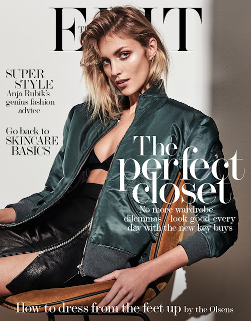 Fashion Model, @ Anja Rubik for The Edit Magazine June 2016