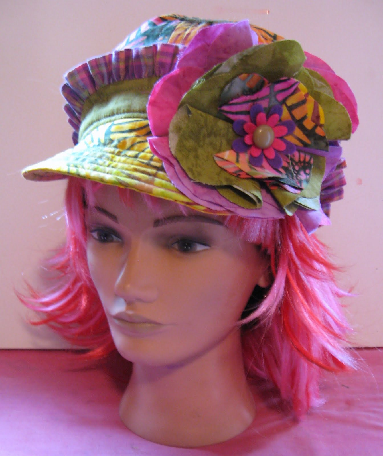 Funky Hats: Artsy Chick Quilts: Funky Hat Pattern