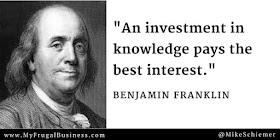 Bootstrap Business Benjamin Franklin Quotes