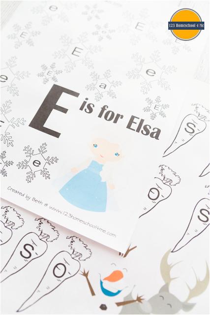 frozen worksheets for kids preschool, prek, kindergarten, first grade