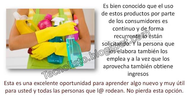 """""""Fórmulas Químicas para Elaborar Productos de Higiene y Limpieza-3"""""""