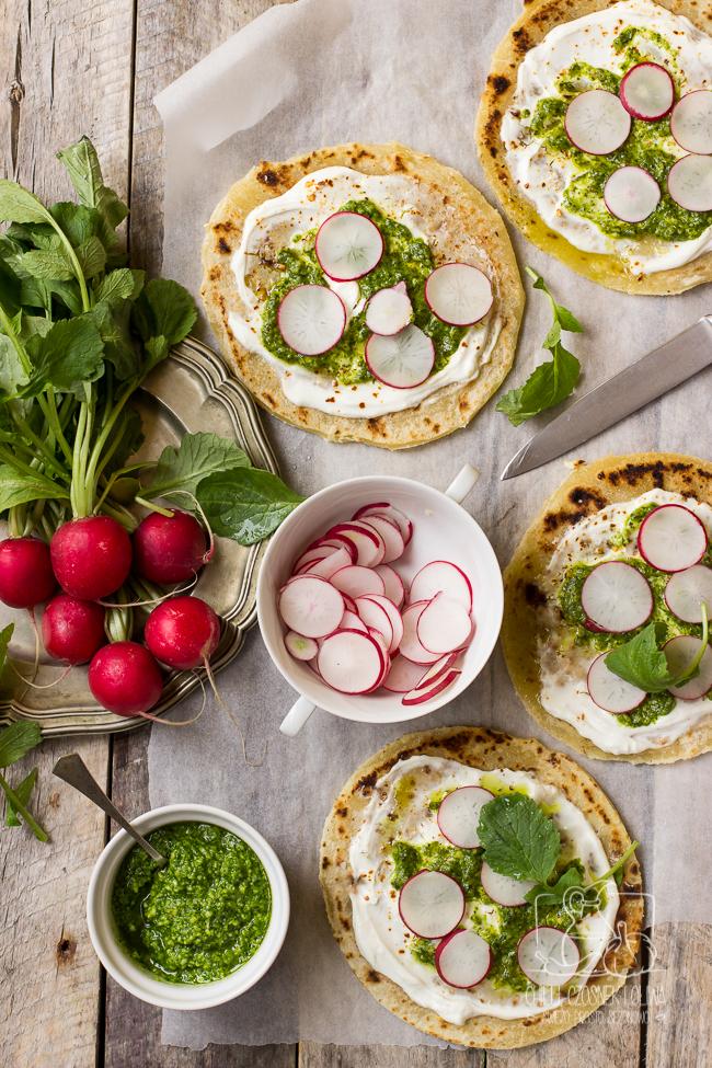 szybka pizza na cieście bez drożdży