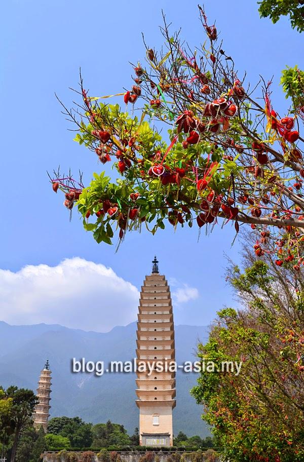 Photo of Three Pagodas in Dali