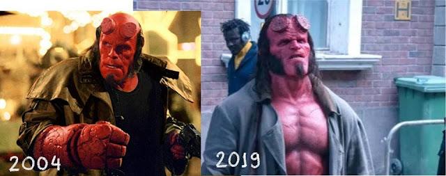 10 anos atrás saiu o último filme do Hellboy dirigido por Guillermo del Toro