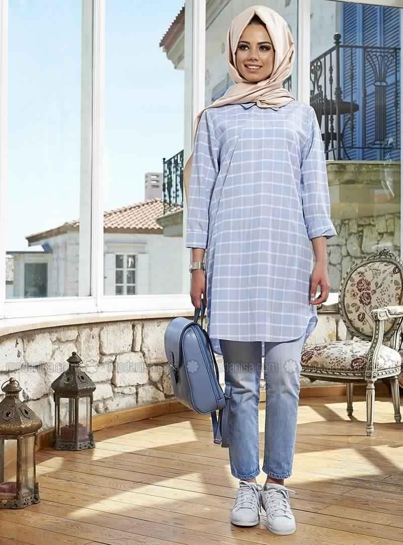 Extrêmement Hijab Moderne - Tenue de Hijab Pour Femme Voilée Pas Cher ~ Hijab  HB37