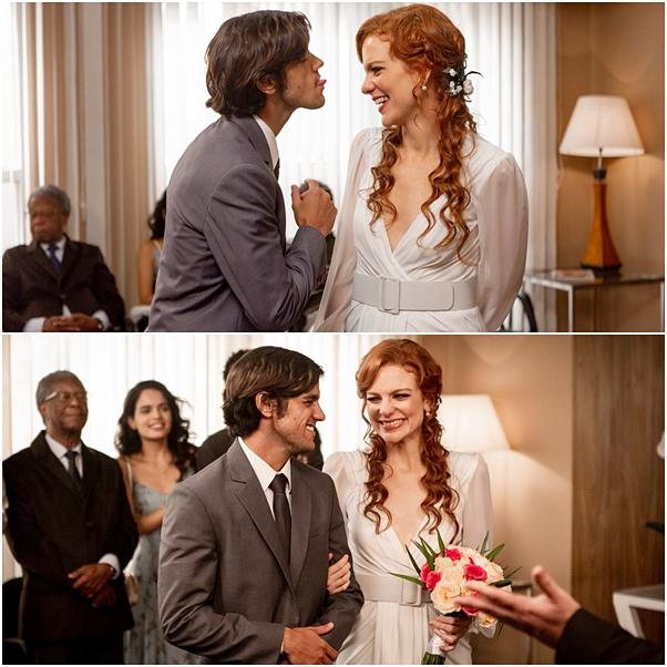Casamento Miss Celine e elmo o tempo não para