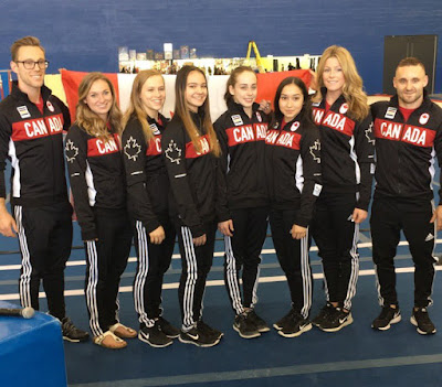 Canada's 8 Member Gymnasts Team Revealed