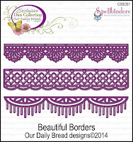 Our Daily Bread designs Custom Beautiful Borders Dies