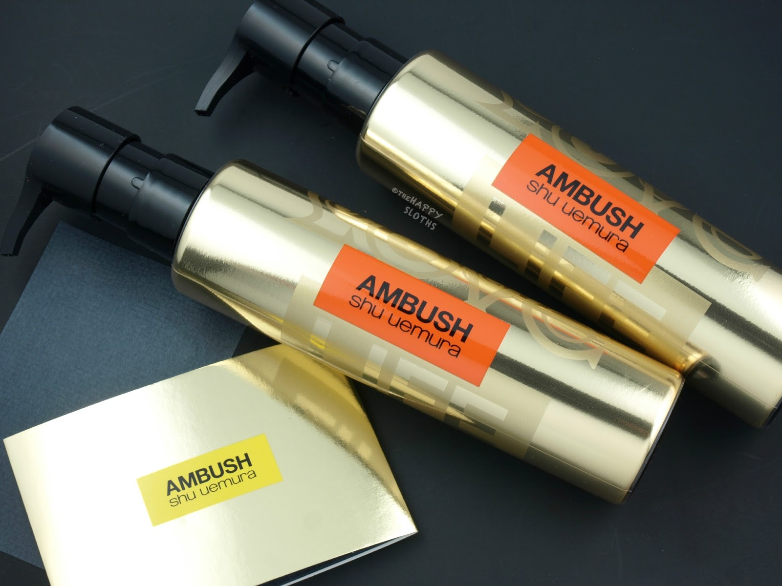 Shu Uemura x AMBUSH Collection | Cleansing Oil & Blotting Paper: Review and Swatches