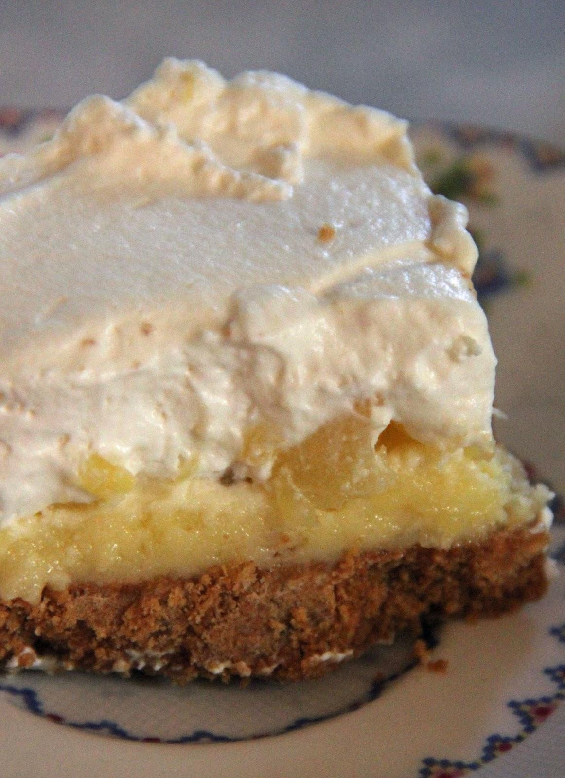Graham Cracker Cake With Pineapple