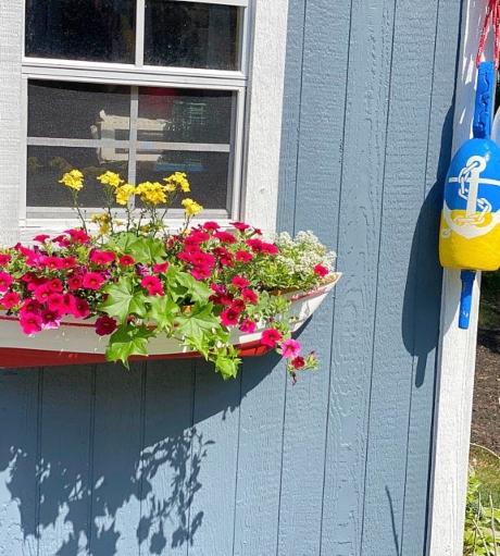 Boat Flower Box