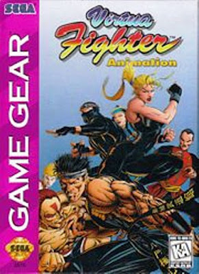 Review - Virtua Fighter Animation - Game Gear