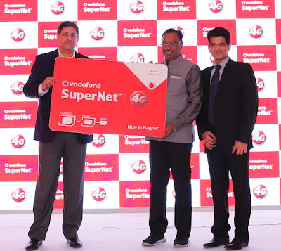 Vodafone 4G LTE services launched in Maharashtra